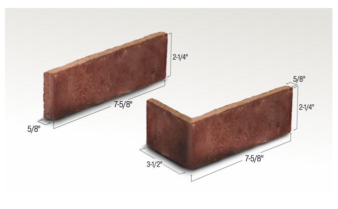 Authintic Brick By Meridian Brick