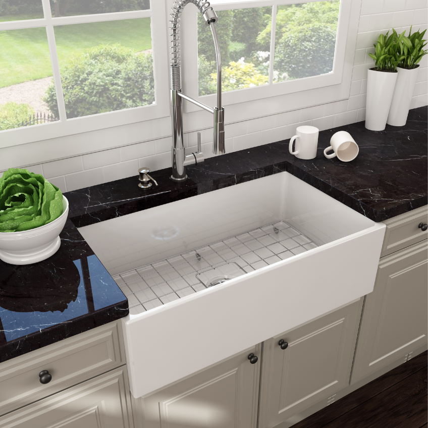 bocchi contempo farmhouse kitchen sink - Farmhouse Kitchen Sinks