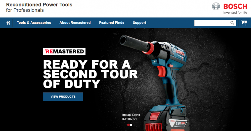 Bosch reconditioned tools