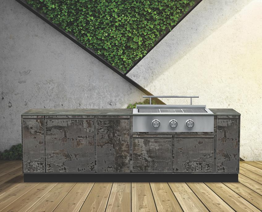 brown jordan outdoor kitchens style brown jordan outdoor kitchens tecno trilium finish daniel germani collaborate on new kitchen