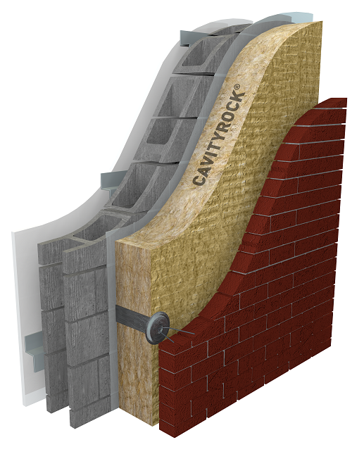 Continuous insulation for optimal thermal performance for New home insulation