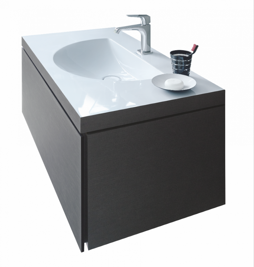 Using A DuraCeram Material, The Manufactureru0027s C Bonded Washbasins Connect  Seamlessly To Their Vanity
