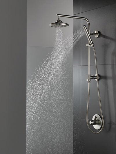 Delta emerge shower column