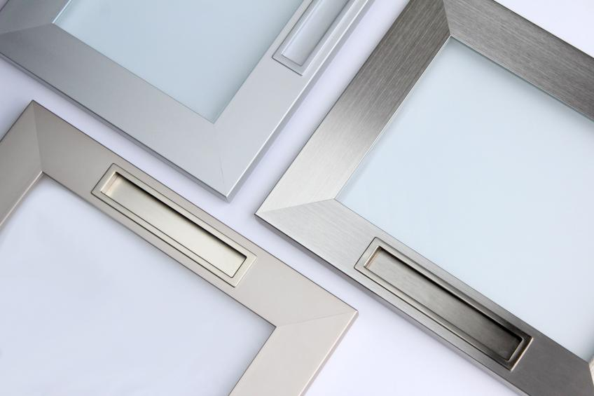 Element Designs recessed pulls for aluminum doors