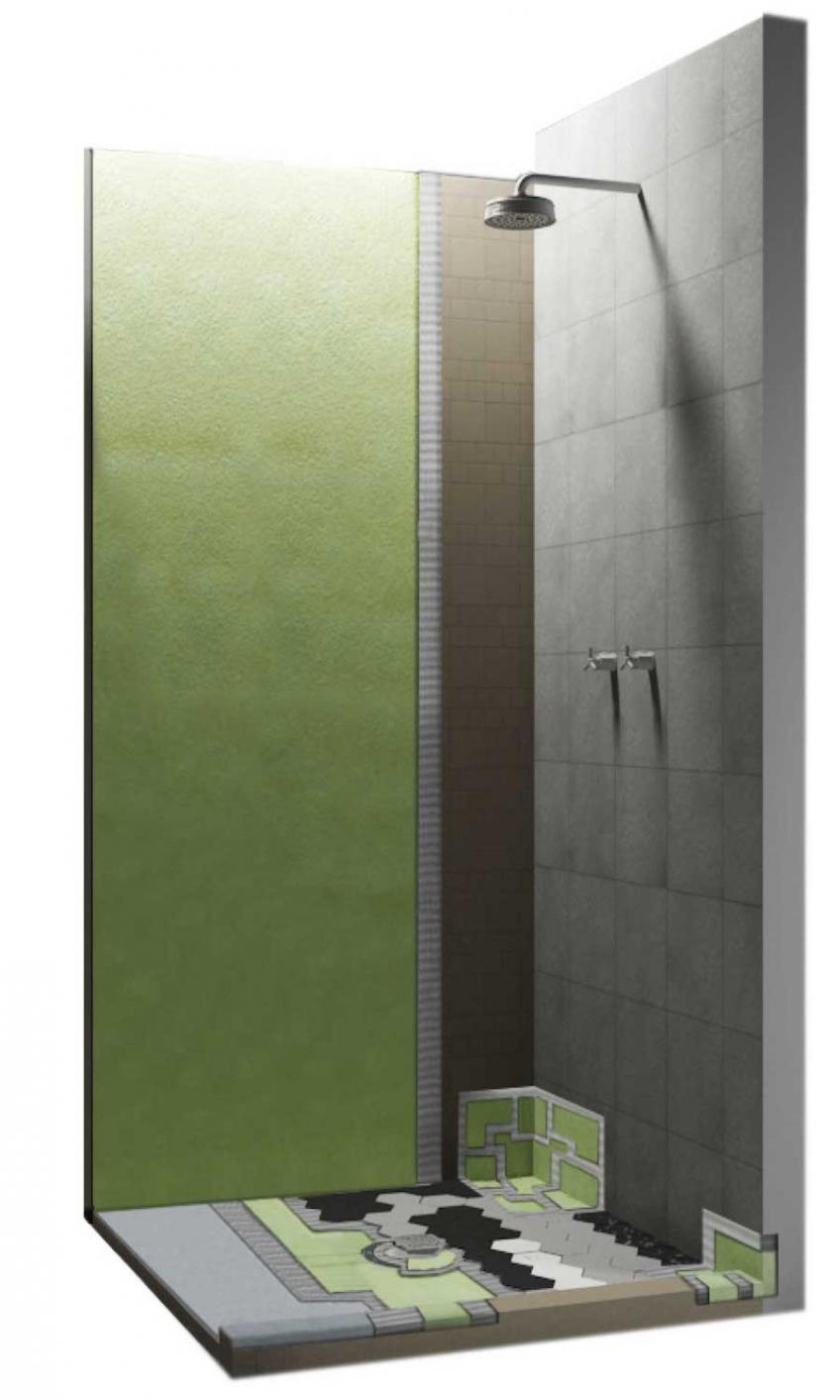 Italian Brand Offers Shower Waterproofing System | Residential ...