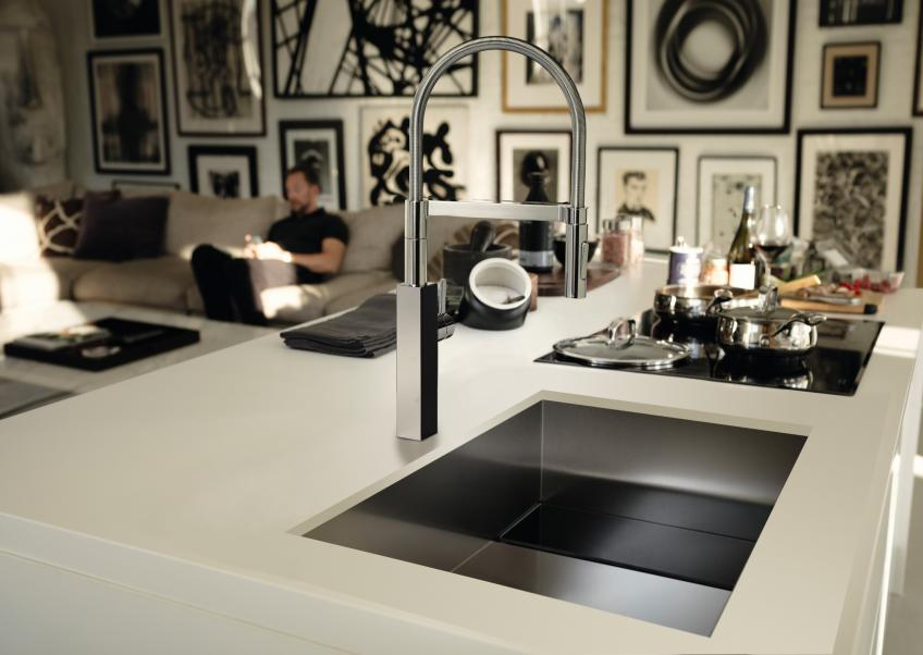 Franke Crystal Sink and Faucet