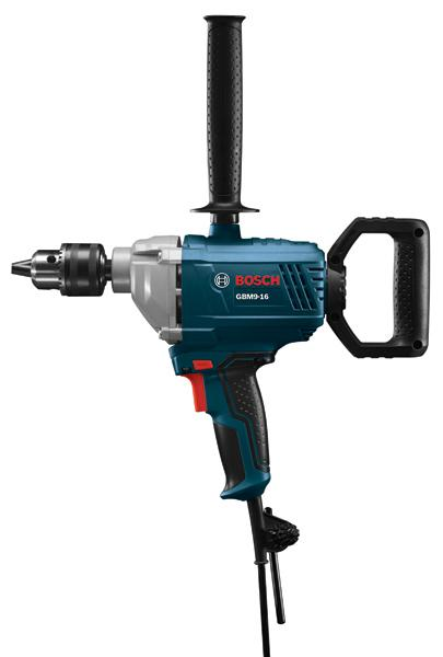 The GBM9-16 is a professional-grade, heavy-duty drill that doubles as a material mixer.