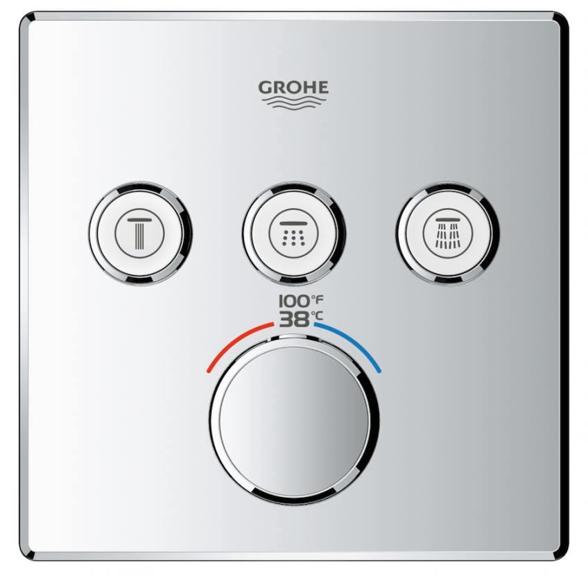 Grohe_SmartControl_shower_controls_concealed GrohTherm