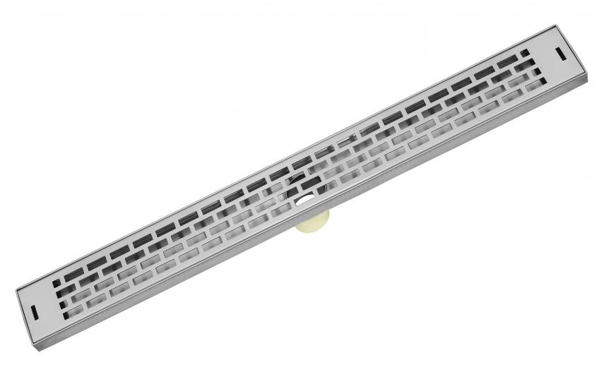 Made from 100 percent stainless steel, the Subway linear shower drain is the newest addition to the company's product line. The product features Subway-style decorative offset repeating patterns that deliver waves of visual movement in a timeless style, the company says. It's available in six standard sizes ranging from 26 inches to 60 inches long.