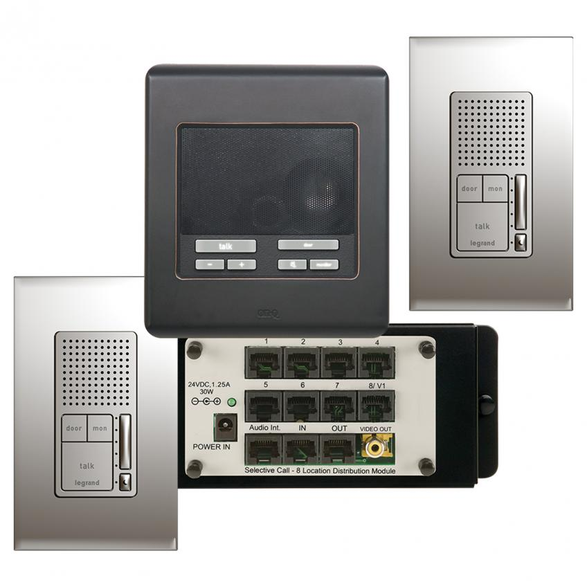 Legrand Intuity Home Automation video door entry intercom