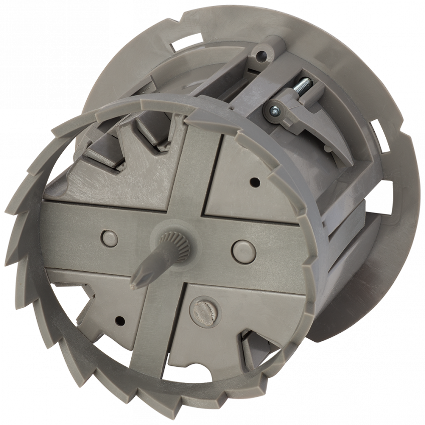 This Round Electrical Box Cuts Its Own Hole | Residential Products ...