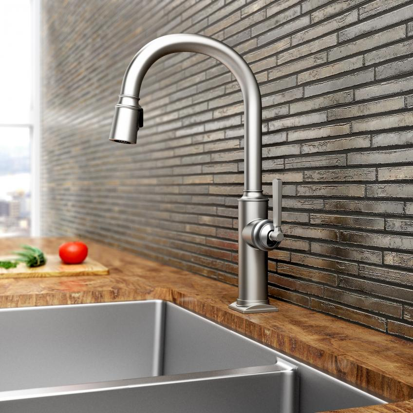 new kitchen faucet expensive kitchen newport brass faucet collection adams adds three new kitchen faucet collections
