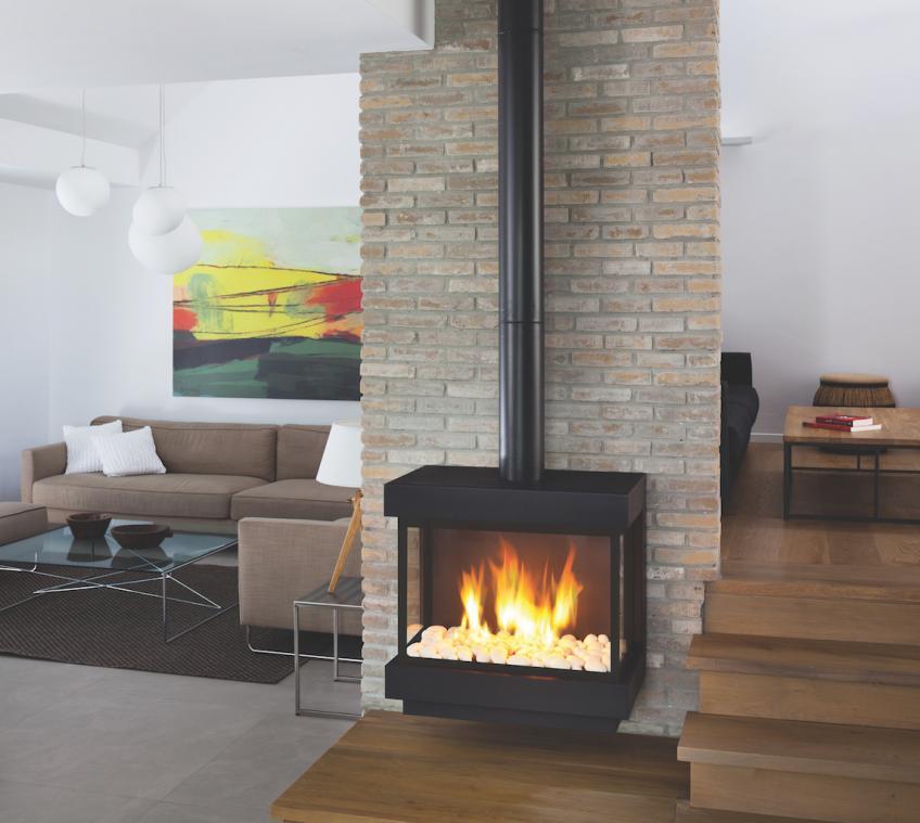 Ortal Lyric Stand Alone fireplace