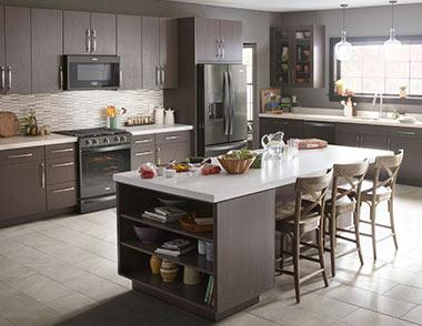 whirlpool black stainless steel appliances lippertcorp highquality appliances in unexpected finishes such as the whirlpool fingerprint resistant black stainless steel kitchen suite seamlessly integrate with introducing