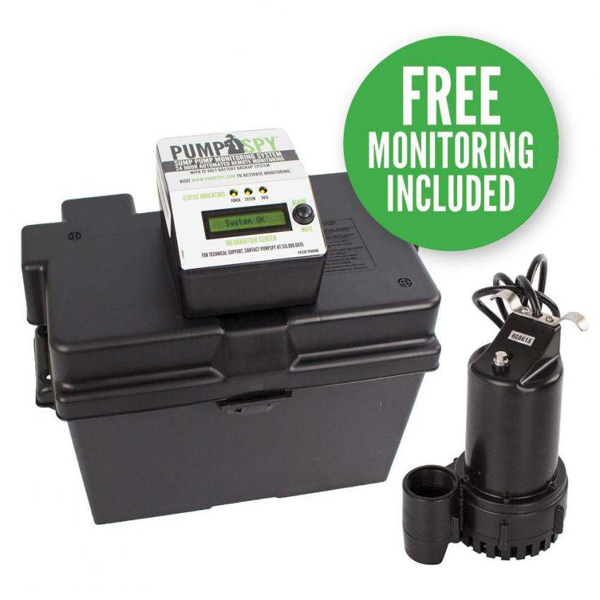 PumpSpy sump pump monitor