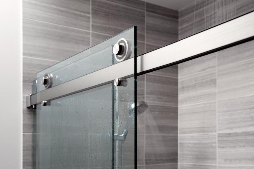 Architectural Hardware Manufacturer Krownlab Debuted Its First Ever Sliding  Shower Door System, Called Rorik