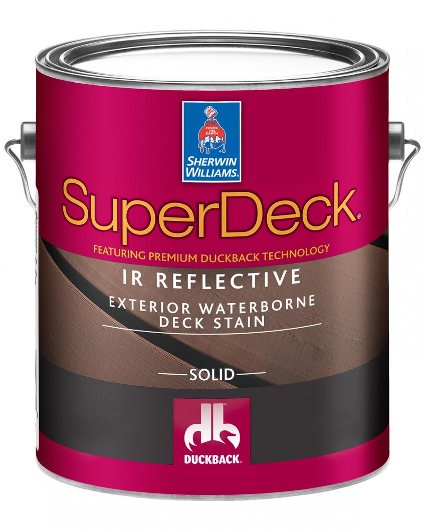 Sherwin-Williams SuperDeck Can
