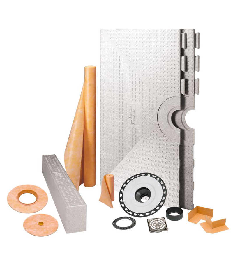 Schluter Systems Kerdi Shower Kit