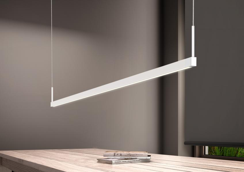 Sonneman A Way of Light ThinLine pendant light & Sonneman Debuts Thin Linear Lighting Solution | Residential ...