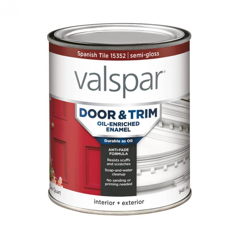 Painting trim and latex versus enamel