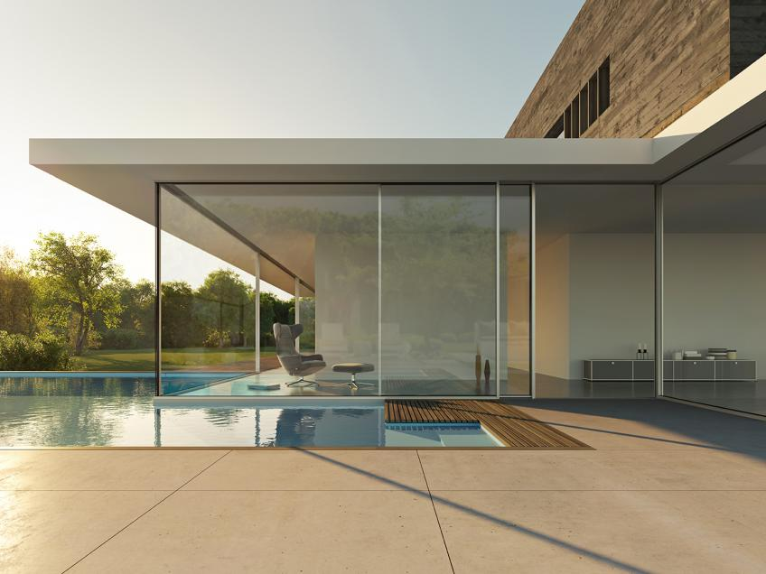 NanaWall Systems the well-known manufacturer of folding and sliding doors has developed & NanaWall Unveils Ultra High-End Minimal Sliding Glass Door Line ...