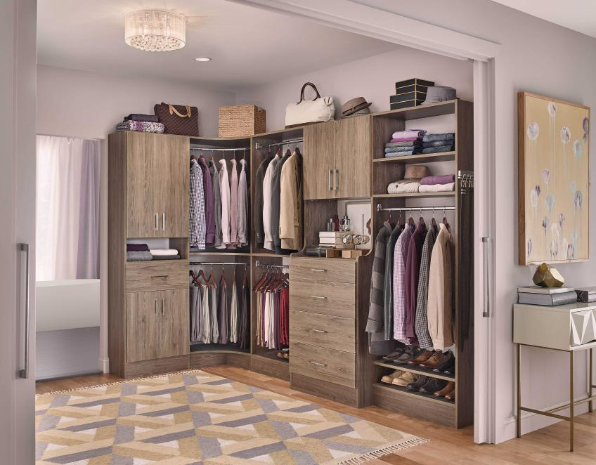 A New Closet System To Dress Up Your Rooms