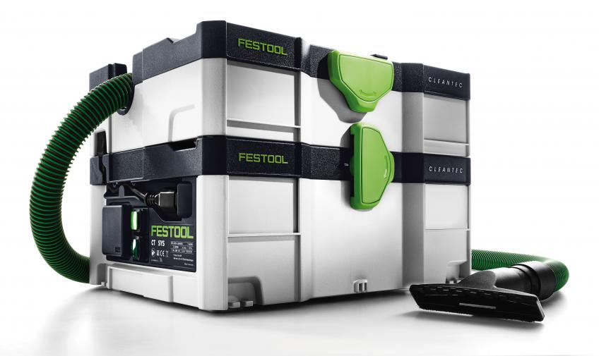 festool introduces ultra portable compact dust extractor residential products online. Black Bedroom Furniture Sets. Home Design Ideas