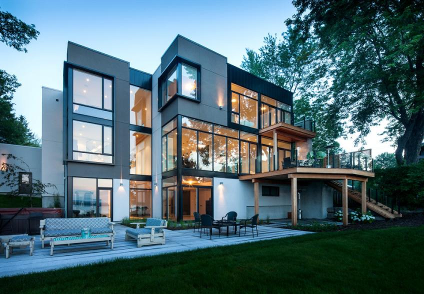 New window standards higher performance added cost for Modern house design ottawa