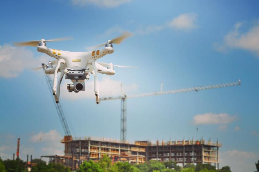 Drone Dispatch Drone Shot