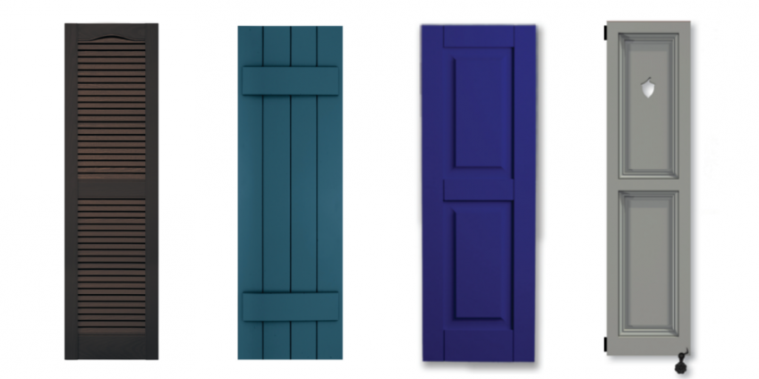 4 Exterior Shutter Options| Residential Products Online