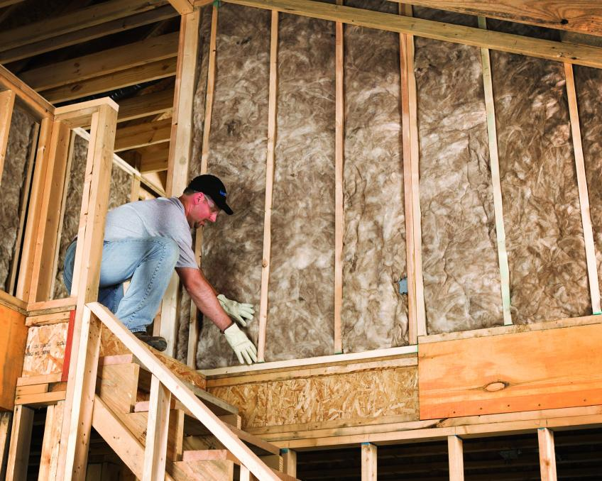 Why batt insulation r value residential products online for Insulation board vs fiberglass