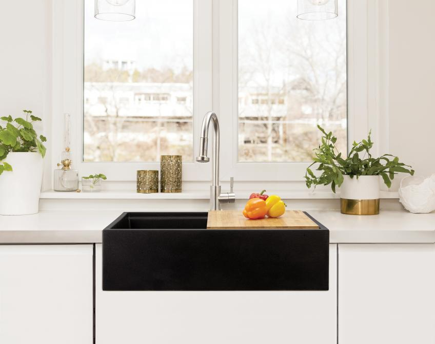 Lenova NovaGranite Farmhouse Sink