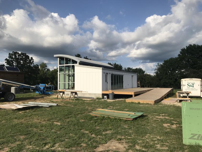 Missouri S&T solar decathlon house