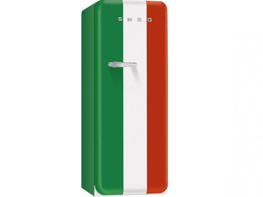 Smeg Italian Flag refrigerator