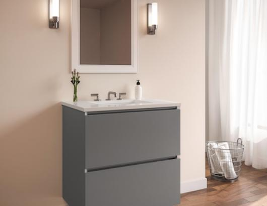 Robern has launched a turnkey vanity program that brings luxury floating vanities to e-commerce.