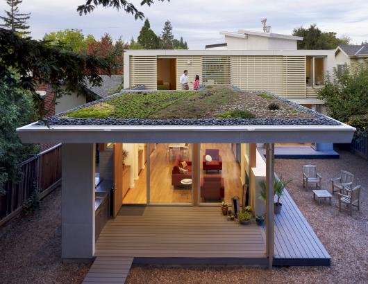 Green Roof by Feldman Architecture