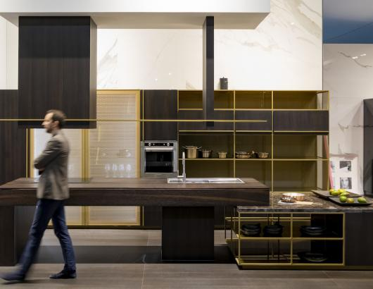 Rastelli kitchen from EuroCucina