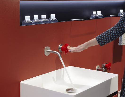 the faucet is one of the things a homeowner touches the most. But now it can be a style statement, too.