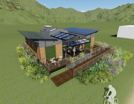 University of Maryland Solar Decathlon reACT house