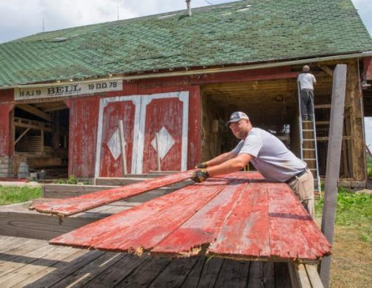 The reclaimed wood and building material industry goes back nearly a half century, but today it's bigger than ever, whether it's recycled wood for home remodeling, custom cabinets, or one-of-a-kind furniture. These firms are leading the charge.