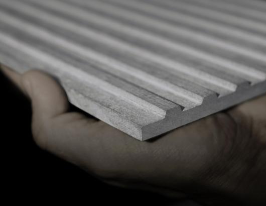 Equitone Linea fiber cement cladding