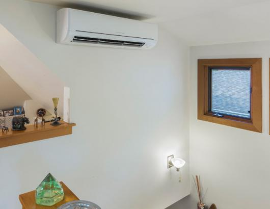 Mitsubishi Electric wall-mounted HVAC