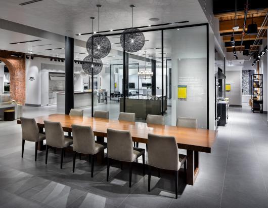Pirch Soho interactive kitchen and bath showroom