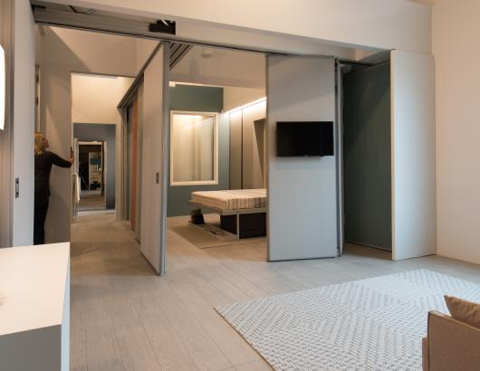 """Making Room"" modular walls"