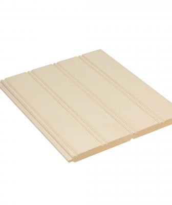 Boral has added double 4- and double 6-inch beadboard profiles to its line of TruExterior Trim products. Each has the same appearance as its single-profile options but offers twice the coverage area for reduced installation time, the company says. Made from a blend of polymers and fly ash, the products are low maintenance, dimensionally stable, and resistant to moisture, cracking, and termites. They can be used in moisture-prone areas and do not require edge sealing. Products measure 5/8 inch thick
