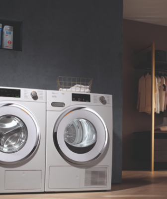 Miele W1 washer and T1 dryer