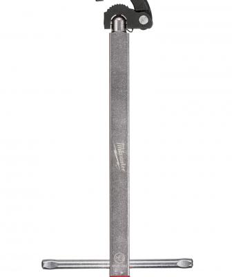 Designed to assist plumbers in making easy basin and faucet swap-outs, this new line of Basin Wrenches features a patent-pending ratchet-ready design compatible with any standard 3/8-inch drive ratchet, allowing users to install or remove basin and faucet nuts faster than with traditional basin wrenches.