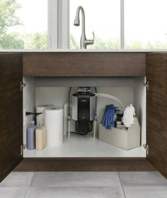 Moen has decided to enter the garbage disposal business, introducing a line of products that are, in some cases, 30 percent lighter than comparable models on the market.