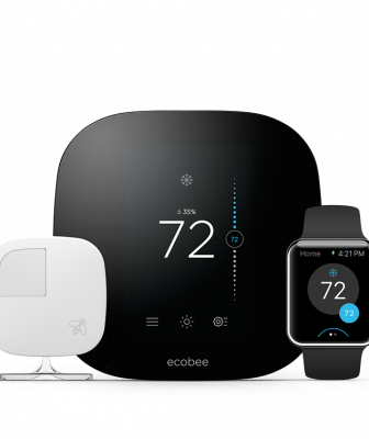 The maker of the Ecobee3 thermostat says it's the only unit on the market that truly senses whether anyone's home and which rooms are occupied and adjusts the comfort based on the readings.