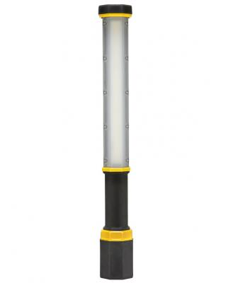 Big Ass Solutions, the company known for sleek ceiling fans and interior lighting products, has launched a battery-powered LED light that can be used on the jobsite. The Light Bar includes six distinct brightness settings, producing up to 5,000 lumens at the brightest setting. It's built from extruded aluminum, polymers, and resins, and features rubberized components for impact protection.